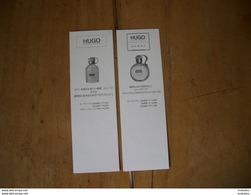 Carte Boss Hugo Recto/verso Japonaise - Parfumkaarten