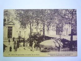 GP 2020 - 2408  BEZIERS  (Hérault)  :  Place SAINT-APHRODISE , Le Matin De La FOIRE   1924   XXX - Beziers