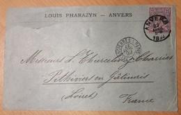 Ambulant  VALENCIENNES A PARIS - 1877-1920: Semi-Moderne