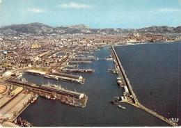13 - Marseille - Vue Aérienne Du Port : Le Cap Janet - Marseilles