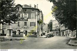 07. PRIVAS EN VIVARAIS . Cour Saint-Louis .  (Restaurant Café FOULLIERE Hotel ) . - Privas
