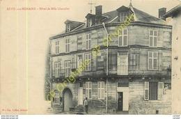 55.  RUPT Sur NONAINS .   Hôtel De Mlle CHEVALIER . - France