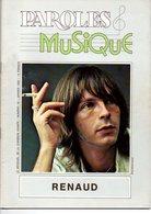 Magazine Paroles Et Musique N° 16 Janvier 1982 Renaud - Music