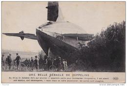 B30- UNE BELLE DEBACLE DE ZEPPELINS - Du 19 Au 21-10-1917, Sur Env. 11 Appareils.... 1 Reste Intact - (2 Scans) - Dirigeables