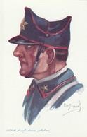 CARTE POSTALE   Illustrateur Emile Dupuis  Soldat D'infanterie (IItalien) - Dupuis, Emile