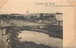 Environs De Mons - Havré Vu De La Terrasse Du Château - Mons