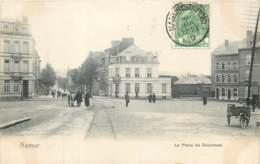 Belgique - Namur - Salzinnes - Attelage De Chien Sur La Place Wiertz - Namur