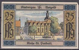 Notgeld - 25 Pfennig - Ambergau - Kirche St. Pankratii - [11] Local Banknote Issues