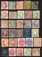 Etats Allemands - Petite Collection Oblit. - Cote Importante - Tous 2ème Choix - LOOK!!!! - Collections