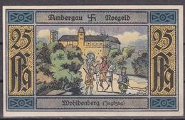 Notgeld - 25 Pfennig - Ambergau - Wohldenberg (Jagdzug) - [11] Local Banknote Issues
