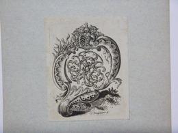 Ex-libris Illustré XVIIIème - J. TH WELLENS - Ex Libris