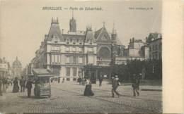 Belgique - Bruxelles - Le Marchand De Glace Porte De Schaerbeek - Old Professions