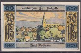 Notgeld - 50 Pfennig - Ambergau - Stadt Bockenem - [11] Local Banknote Issues