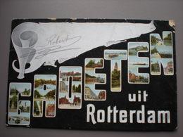 ROTTERDAM - GROETEN 1905 - Rotterdam