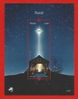 Portugal  2019 , Natal / Weihnachten / Christmas - With LED - Block / Sheet - Postfrisch / MNH / (**) - 1910-... Republik