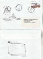 Patrouilleur LA RIEUSE Surveillance Maritime ZEE Océan Indien Réunion Le Port Marine 5/7/2002 Cachet Au Verso Env 2 - Storia Postale