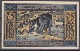 Notgeld - 75 Pfennig - Ambergau - Relief An Dem Jägerhaus B. Bockenem - Lokale Ausgaben