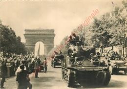 LIBERATION DE PARIS .  Tanks De La Division Leclerc . - Guerre 1939-45