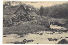 CPA 35 Environs De MEZIERES Vieux Moulin De Bécherel Roue à Eau Water Mill - Frankrijk