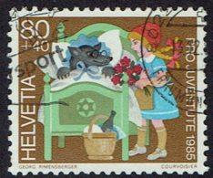 Schweiz 1985, MiNr 1306, Gestempelt - Used Stamps