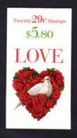 "ETATS-UNIS 1994 - Carnet Yvert C 2217 - Scott #2814a - NEUF** MNH - ""Love"" - 1981-..."