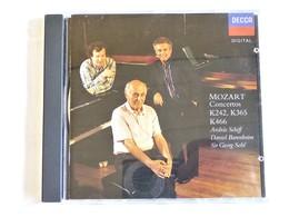 MOZART, Concertos K242, K365, K466, Andras Schiff, Daniel Barenboïm, Sir Georg Solti - Classique