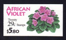 ETATS-UNIS 1993 - Carnet Yvert C 2192 (II) - Scott # - NEUF** MNH - Flore, African Violet - 1981-...