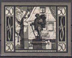 Notgeld - 50 Pfennig - Münster I.W. - Kiepenkerl - [11] Lokale Uitgaven