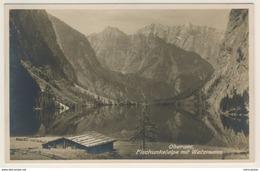 AK  Obersee Fischunkelalpe Mit Watzmann Bei Berchtesgaden - Berchtesgaden