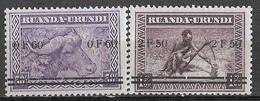 0Ra-862: 2 Zegels: Postfris: N°115/16....om Verder Aan Te Vullen... - 1924-44: Neufs