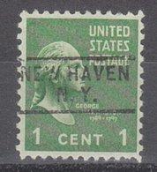 USA Precancel Vorausentwertung Preo, Locals New York, New Haven 729 - Vereinigte Staaten