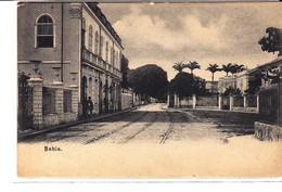 Cpa Old Pc Brésil Bahia Rue Vierge - Salvador De Bahia