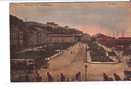 Cpa Old Pc Brésil Bahia Praca Marechal Deodoro Vierge - Salvador De Bahia