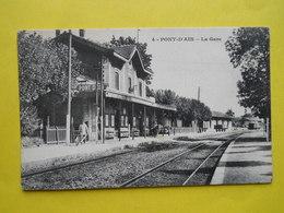 Pont D'Ain ,gare - France