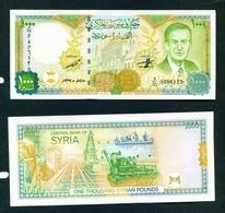 SYRIA - 1997 1000 Pounds UNC Banknote - Siria