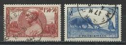 Frankreich Yv 456, 457, Mi 469, 470  Obl. - Gebraucht
