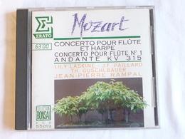 MOZART, Concerto Pour Flûte Et Harpe, Concerto Pour Flûte N°1, Lily Laskine, Jean-Pierre Rampal - Classique