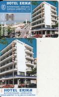 GREECE - Hotel Erika/Alexandroupoli, Tirage 21000, 10/97, Used - Grèce