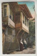 2 CPSM ISTAMBUL EX. CONSTANTINOPLE (Turquie) - Quartier Turc à Stambul, Ecole Du Coran - Turquie
