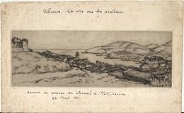 COLLIOURE . LA VILLE VUE DU PLATEAU . 1941 - Prints & Engravings