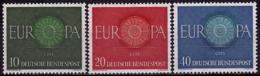 Allemagne - Europa CEPT 1960   - Yvert Nr. 210/212 - Michel Nr. 337/339  ** - 1960