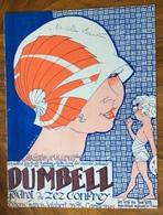 SPARTITO MUSICALE - DUMBELL  Ed. FRANCIS SALABERT - PARIS 1922 - Ill. R . DE VALERIO - Altri