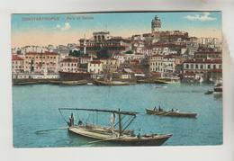 2 CPSM ISTAMBUL EX. CONSTANTINOPLE (Turquie) - Péra Et Galata, Corne D'Or : Arsenal - Turquie