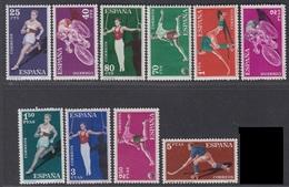 SPAGNA 1960  SERIE SPORTIVA   UNIF. N. 987/96  MNH   CV € 10 - 1951-60 Unused Stamps