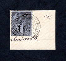 Nouvelle Calédonie - 1892 - Colonies Françaises Surcharges  - Signé Par Kohl Expert Allemand - New Caledonia