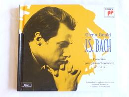 Glenn GOULD, J.S. BACH, Concertos Pour Piano Et Orchestre N° 1 à 3, - Classique