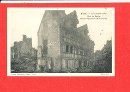 14 CAEN Cpa Ruede Geole Juin Juillet 1944 Manoir Quatrans   1255 Delasalle - Caen