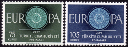 Turquie - Europa CEPT 1960   - Yvert Nr. 1567/1568 - Michel Nr. 1774/1775  ** - 1960