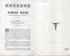Aerocar Dulier - Armengaud Jeune -Brochure 8 Pages  (Divers 78) - 1900 - 1949