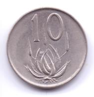 SUID AFRIKA 1965: 10 Cents, KM 68.2 - Südafrika